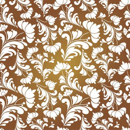 vintage floral: Vintage floral pattern