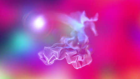 volumes: Volumes of abstract smoke, 3d illustration Stock Photo