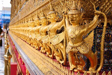 Thai Garuda  Stock Photo