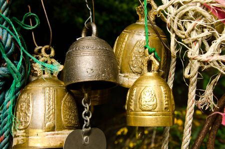 Thai bell  Stock Photo