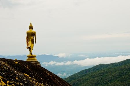 Der Buddha auf dem Berg