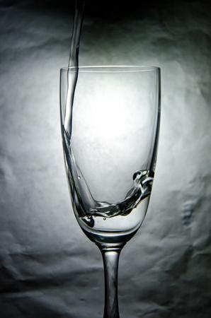 Das Wasser im Glas Lizenzfreie Bilder