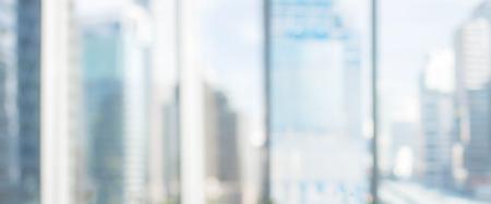 Blurred background : office and hallway interior Standard-Bild