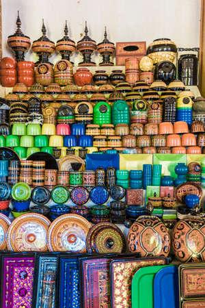 lacquer ware: Handmade Lacquer Ware Stock Photo