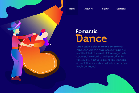 landing page mexico dance celebration