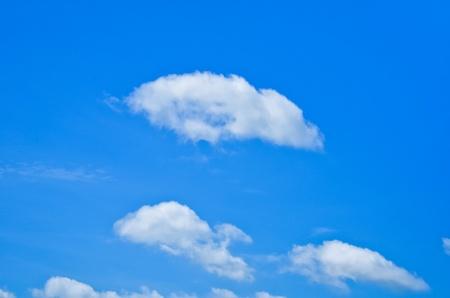 White fluffy cloud Stock Photo - 21548963