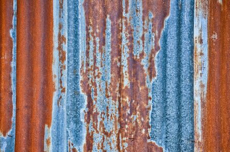 outworn: Zinc sheets background Stock Photo