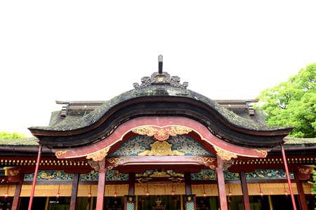 Dazaifu Tenmangu shrine in Fukuoka, Japan