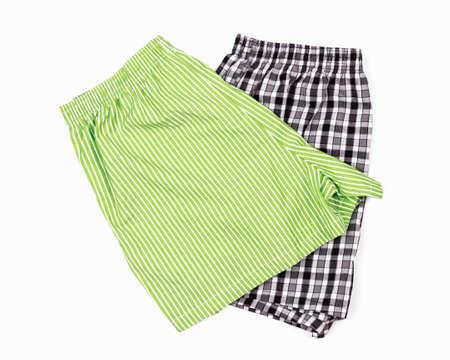 Shorts underwear isolated white background