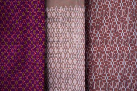 sarong: thai traditional sarong background
