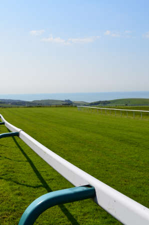 racecourse: Horse racecourse in Southern England