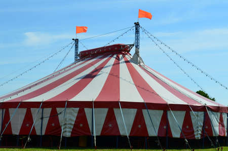 Large circus tent  Banco de Imagens