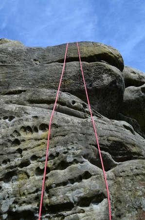 abseilen: Kletterausr�stung