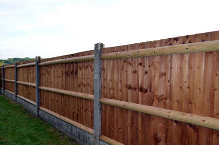 home garden: Garden fence panels