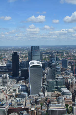 London city skyline.