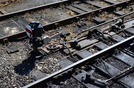 palanca: Punto de uni�n de tren y la palanca.