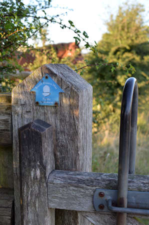 South Downs Way bridle gate