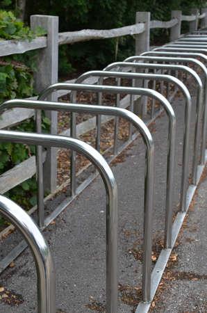 Modern bicycle rack