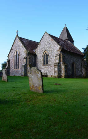 11th Century St Mary the Virgin church in the village of Ringmer Sussex.