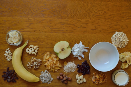 choice of cereals for breakfast Stock Photo - 64610140