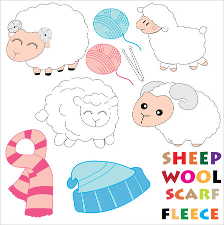 sheeps: sheeps Illustration