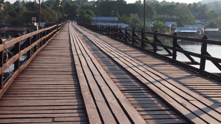 morn: Wooden Bridge
