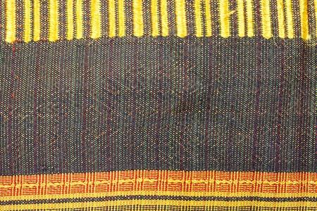 Hand made THAI silk pattern background photo