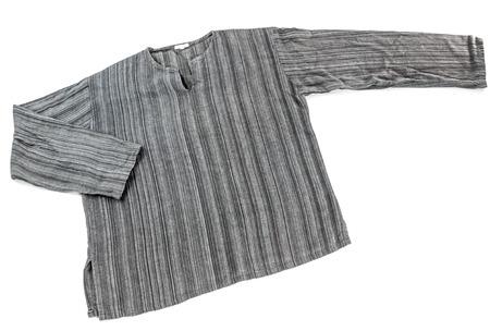 Cotton shirt isolate on white photo