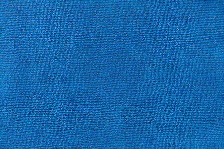 microfibra: Textura azul de microfibra textil