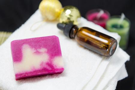Handmade soap photo