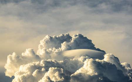 lenticular: lenticular clouds