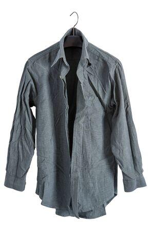 creased: creased shirt Stock Photo
