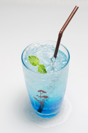 Italian Blue Soda,Colorful Italian sodas  photo