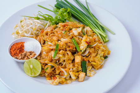 Thailand fried noodle  photo