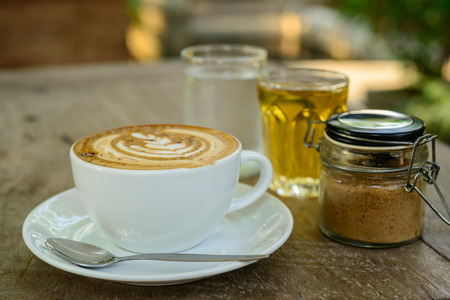 mocha: Coffee Mocha Stock Photo
