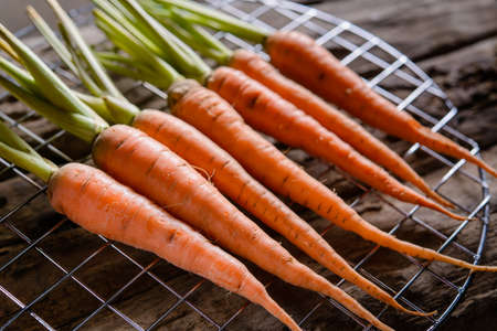 nontoxic: Baby carrots, fresh vegetables grown with pesticides and non-toxic. And delicious