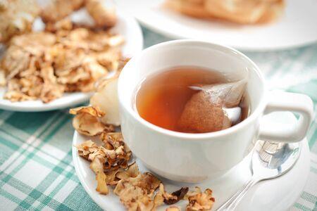 helianthus: Helianthus tuberosus Hot drinks for health