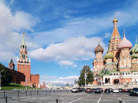 La Plaza Roja, Moscú, Rusia Foto de archivo