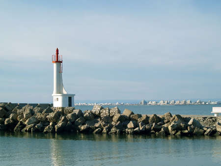 Romantic lighthouse in the south of France