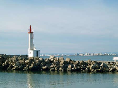 Romantique phare dans le sud de la France