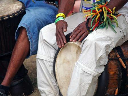 Bagnols sur C�ze, France - 27 juillet 2012: Garance Reggae Festival 25-28 juillet. Est devenu internationalement c�l�bre � Paris, depuis 2010, le festival se d�roule dans le sud de la France � Bagnols sur c? (30) en le renfor�ant �ditoriale