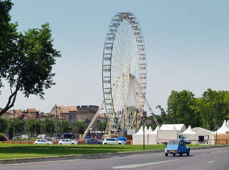 Ferris wheel in Avignon photo