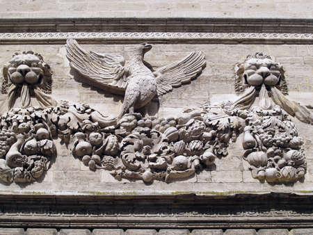 Sculptures in H&Atilde,&acute,tel Des Monnaies Avignon, Provence, France