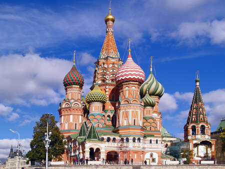 Red Square, Moscow, Russia: Saint Basil Cathedral