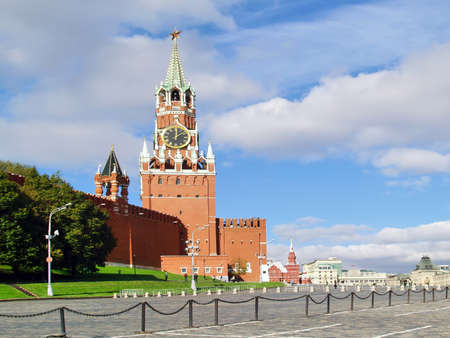red square moscow: La Plaza Roja, Mosc�, Rusia Spasskaya Tower, Rusia