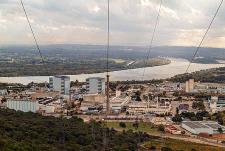 decommissioning: Marcoule Nuclear Site  French  Site nuclaire de Marcoule  is a nuclear plant in the Chusclan is nowadays an important site for decommissioning nuclear facilities activities
