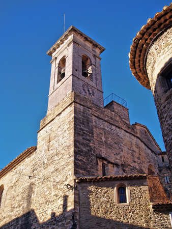 bell tower in Chateauneuf du Pape, south of france Stock Photo - 17107651