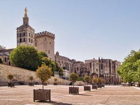 Splendid Papes gothique Palais � Avignon, France