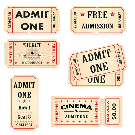 circus ticket: Tickets set