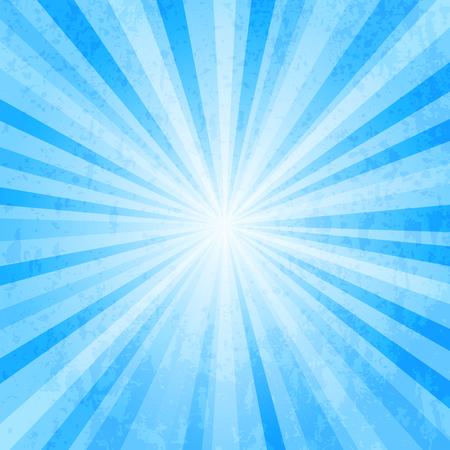Blue star burst background